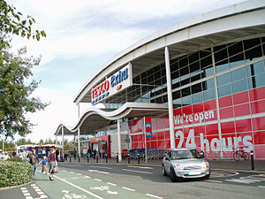 Kingston Park - Image: Tesco Kingston Park