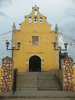 Principal Church of Tetiz, Yucatán
