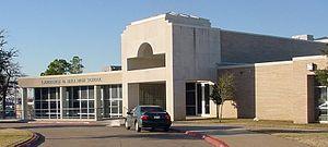 L. D. Bell High School - L.D. Bell High School Front Entrance