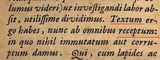 <i>Textus Receptus</i> Greek critical text of the New Testament