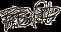 Tezuka signature.png