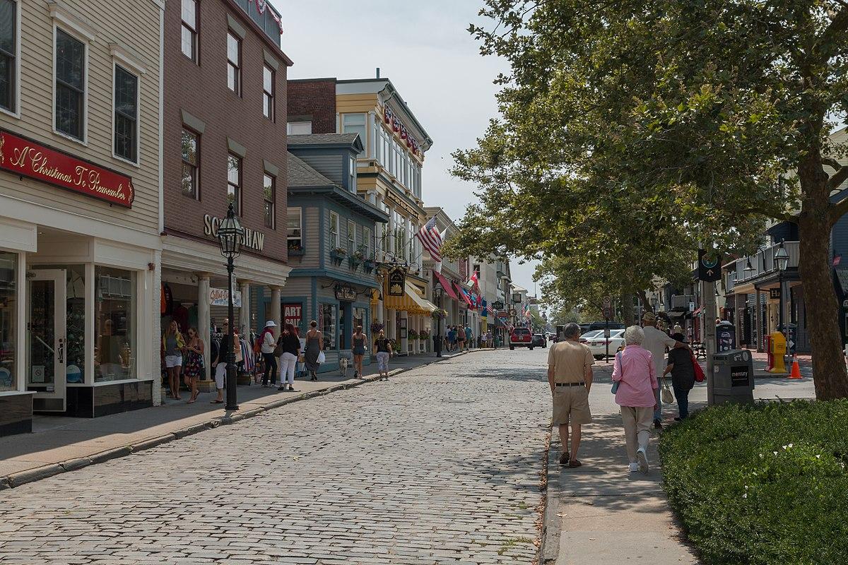 Thames Street Newport Rhode Island