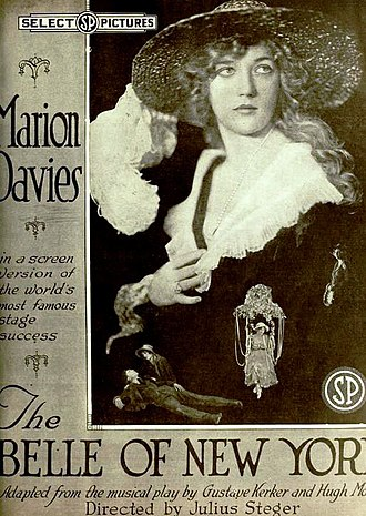 The Belle of New York (1919 film) - Image: The Belle of New York (1919) Ad 1