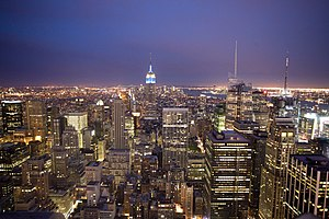 "English: Taken from ""The Top of the Rock&..."