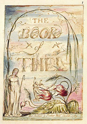The Book of Thel - Image: The Book of Thel