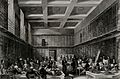 The British Museum; the reading room, with many readers. Eng Wellcome V0013534.jpg