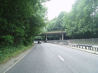 A22 road - Image: The Caterham Bypass geograph.org.uk 23439