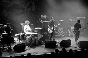 The Dandy Warhols - Image: The Dandy Warhols at Kentish Town Forum 2012