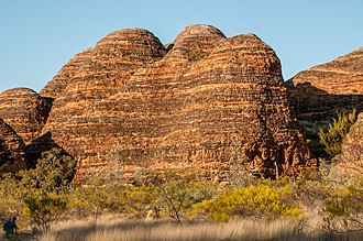 Purnululu National Park - Image: The Domes Walk, Purnululu National Park