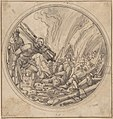 The Emperor Maxentius Ordering the Burning of the Fifty Wise Men... MET DP802882.jpg
