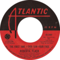 The First Time Ever I Saw Your Face by Roberta Flack US vinyl.png