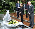 The Foreign Secretary and Angelina Jolie visit The genocide memorial in Kigali (8595014576).jpg