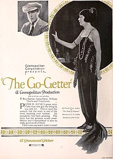 <i>The Go-Getter</i> (1923 film) 1923 film by Edward H. Griffith