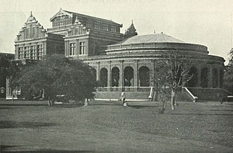 Government Museum, Chennai - The Museum complex by Willie Burke, c. 1905