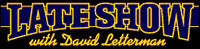 Logo del programma David Letterman Show(Late Show with David Letterman)