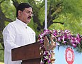 The Minister of State for Railways, Shri Bharatsinh Solanki addressing at the 57th Railway Week National Function-2012, in New Delhi on April 16, 2012.jpg