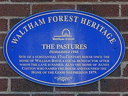 The pastures demolished 1966 (waltham forest heritage)
