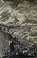 The Phillip Medhurst Picture Torah 367. Children of Israel come to Succoth. Exodus cap 12 v 37. Tyroff.jpg
