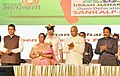The President, Shri Ram Nath Kovind launching the Urban Maharashtra Open Defecation Free (ODF), at Mumbai, in Maharashtra.jpg