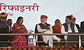 The Prime Minister, Shri Narendra Modi at the Public Rally, in Barmer, Rajasthan.jpg