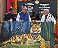 The Prime Minister, Shri Narendra Modi inaugurates the Nandan Van Jungle Safari, at Naya Raipur, Chhattisgarh on November 01, 2016. The Chief Minister of Chhattisgarh, Dr. Raman Singh is also seen.jpg