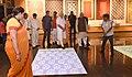 The Prime Minister, Shri Narendra Modi visiting the Deendayal Hastkala Sankul, in Varanasi, Uttar Pradesh.jpg