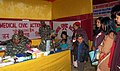 The Shasastra Seema Bal medical officers treating patients at free medical camp organised during the Bharat Nirman Public Information Campaign, at Dentam, West Sikkim on February 13, 2012.jpg