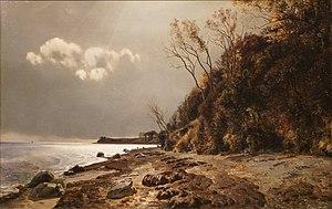 Janus la Cour - Janus la Cour: Moesgård Strand  (1890)