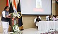 The Union Home Minister, Shri Rajnath Singh addressing at the inauguration of the 28 Special Composite Ground Complex of NSG, at Ibrahimpatnam, in Hyderabad.jpg