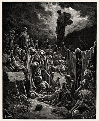 Book of Ezekiel - Image: The Vision of The Valley of The Dry Bones