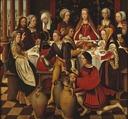 The Wedding in Cana (Ambrosius Benson) - Nationalmuseum - 17425.tif