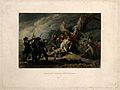 The death of General Montgomery, at Quebec, all around are s Wellcome V0006896.jpg