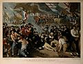 The death of Lord Nelson on the quarter deck aboard HMS Vict Wellcome V0006851.jpg