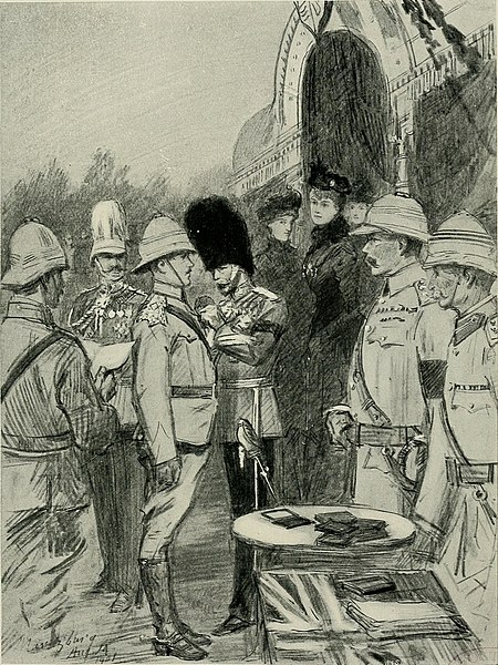 File:The web of empire - a diary of the imperial tour of their Royal Highnesses the Duke and Duchess of Cornwall and York in 1901 (1902) (14761785074).jpg