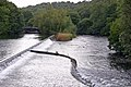 The weir at bottom of Lake Windermere, Newby Bridge - geograph.org.uk - 290829.jpg