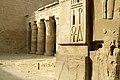 Thebes, Medinet Habu, Egypt, Temple of Ramesses III, Egyptian hieroglyphs, Ancient Egypt.jpg