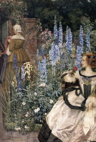 Eleanor Fortescue-Brickdale - Image: They toil not, neither do they spin
