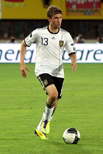 Thomas Müller - Müller with Germany in 2011.