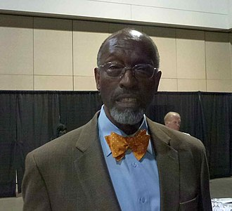 Satch Sanders - Sanders at the New England Basketball Hall of Fame induction dinner in 2013