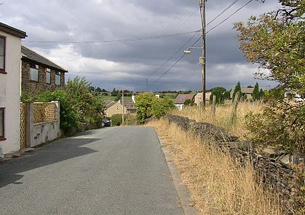 Looking north along Thornhills Lane Thornhills, Clifton - geograph.org.uk - 41587.jpg