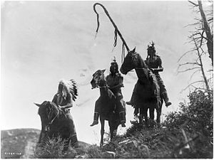 Three Crow horsemen- Edward S. Curtis.jpg