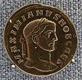 Ticinum (pavia), galeio massimiano-cesare, follis, 295-296 dc.JPG