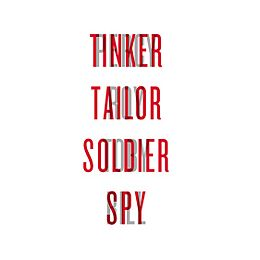 Tinker Tailor Soldier Spy (Logo)