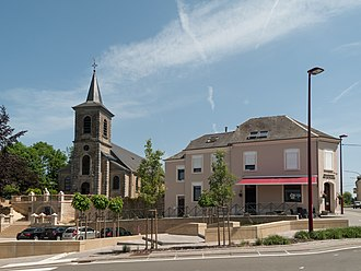 Tintigny - Image: Tintigny, église Notre Dame de l'Assomption 85039 CLT 0004 01 foto 3 2014 06 10 143.259