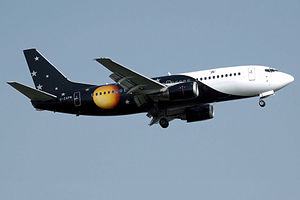 Air charter - Boeing 737-300 of the UK charter airline Titan Airways