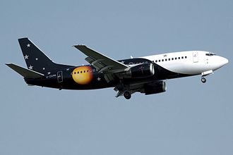 Titan Airways - Titan Airways Boeing 737-300 wearing the old livery