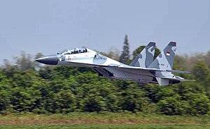 Sukhoi Su-30MKK - Image: Tni au su 30 1