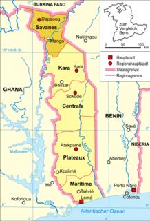 Savanes Region, Togo Region in Togo