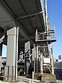 Tokaido Shinkansen maintenance workers stair - Hinode.jpg