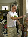 Tom Chistopher working at Lift Trucks Project on art.jpg